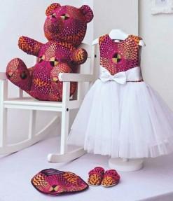 Ankara Teddy bear