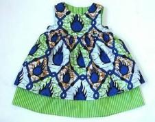 Ankara girls dress