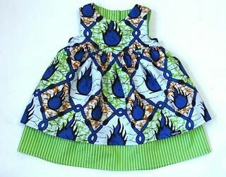 Ankara girls dress