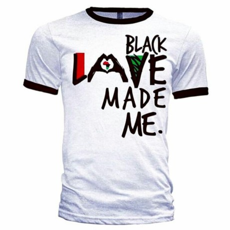 Black love tshirt