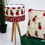 Ankara lampshade and pillow