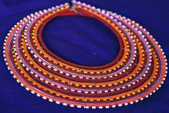 maasai statement necklace